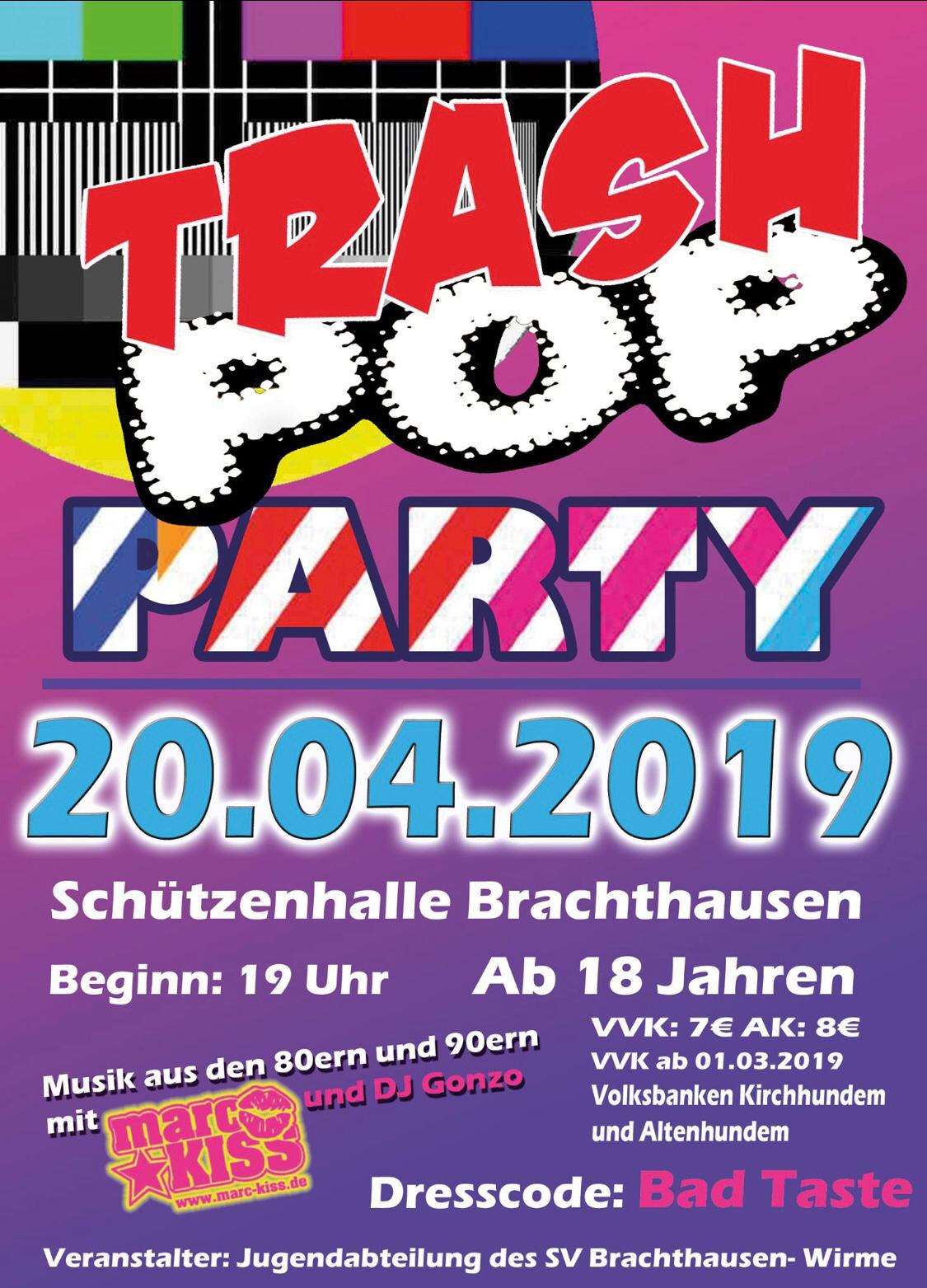 20042019   Trash Pop Party