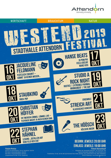 Westend Festival 2019
